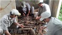 Phát hiện hầm đạn pháo khi đào đường điện ngầm tại Bảo Lộc, Lâm Đồng
