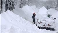 Mỹ: Thời tiết khắc nghiệt trong dịp nghỉ lễ, 3 người chết trong bão tuyết