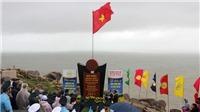 Lễ chào cờ đầu năm 2019 ở điểm cực Đông trên đất liền của Tổ quốc