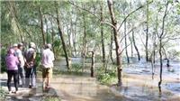 Vụ chìm sà lan trên sông Tiền: Tìm thấy thi thể một nạn nhân