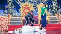 Lần đầu tham gia Táo Xuân Kỷ Hợi, Hoa hậu Tiểu Vy lăn xả hết mình