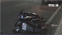 VIDEO tai nạn liên tiếp trên cầu Sài Gòn