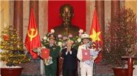 Hai đồng chí Tô Lâm và Lương Cường được phong hàm Đại tướng