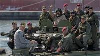 Quân đội Venezuela bắt đầu tập trận