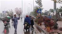 Dự báo thời tiết 12/2: Bắc Bộ tiếp tục có mưa nhỏ, mưa phùn, sáng và đêm trời rét