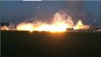 Video Mỹ dội bom chứa chất phốt pho trắng xuống thành trì cuối cùng của IS