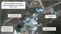 Tổng thống Trump 'bán tín, bán nghi' trước thông tin Triều Tiên xây dựng lại cơ sở phóng tên lửa
