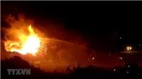 Cháy lớn gây thiệt hại nghiêm trọng tại quận 12 Thành phố Hồ Chí Minh