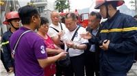 Giải cứu năm du khách Trung Quốc trong vụ cháy khách sạn