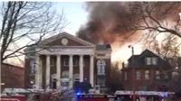 VIDEO: Cháy lớn tại bảo tàng Missouri, Mỹ