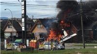 Máy bay hạng nhẹ đâm vào nhà dân làm 6 người thiệt mạng ở Chile