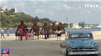 VIDEO: Havana biến phố đi bộ thành bảo tàng 3D