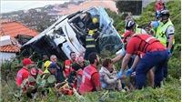 Tai nạn xe bus khiến 28 du khách Đức thiệt mạng ở Bồ Đào Nha