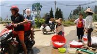 Giữa mùa du lịch, Sa Pa thiếu nước sinh hoạt trầm trọng