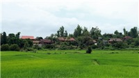 'Hồ Đại tướng' tắm mát ruộng đồng Mường Phăng