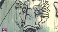 Nhếch nhác tranh vẽ sơn Graffiti tại Đà Nẵng