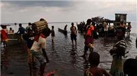 Chìm tàu tại CHDC Congo, hơn 100 người mất tích