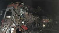 VIDEO: 34 người thương vong trong vụ tai nạn giao thông nghiêm trọng tại Hòa Bình