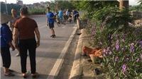 Nữ lao công Hà Nội bị ô tô đâm tử vong khi đang quét rác