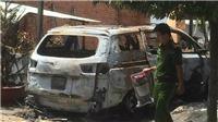 Điều tra vụ cháy quán cà phê do nghi bị ném bom xăng