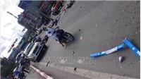 Quảng Ninh: Xe khách đâm hàng loạt xe máy khiến 5 người bị thương