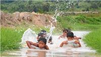 Ngăn suối 'dựng trại' chống đuối nước bên chân núi lửa Chư Đang Ya