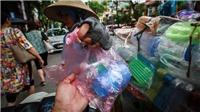 Hình ảnh thảm họa nylon và nhựa dùng một lần đang xâm chiếm thế giới