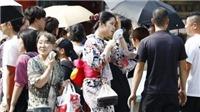 Hàng chục nghìn người Nhật Bản nhập viện vì nắng nóng trong tuần qua