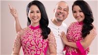 Cặp 'mẹ chồng quốc dân' Lan Hương - Ngân Quỳnh diện áo dài đôi của NTK Đức Hùng
