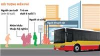 Từ 1/9, Hà Nội miễn phí đi xe buýt cho người thuộc diện ưu tiên