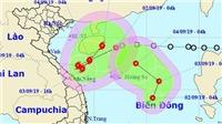 Thêm một vùng áp thấp giữa biển Đông đã mạnh lên thành áp thấp nhiệt đới