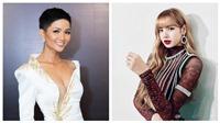 Top 20 'Gương mặt đẹp nhất năm 2019': Hoa hậu H'Hen Niê đứng cùng Lisa, Jisoo Blackpink