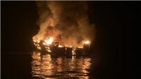 Cháy tàu lặn ở Mỹ: Nhiều người thiệt mạng và mất tích