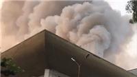 Cháy lớn Hội trường Cung Văn hóa hữu nghị Việt Xô