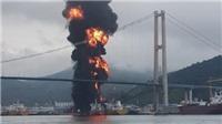 Hàn Quốc: 9 người bị thương trong vụ nổ trên tàu tại cảng Yeompo