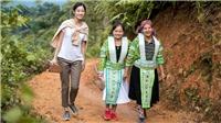 Hoa hậu Lương Thuỳ Linh đi bộ, leo núi khảo sát dự án nhân ái