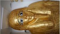 Ai Cập trưng bày quan tài bằng vàng hàng nghìn năm tuổi sau nhiều năm bị thất lạc