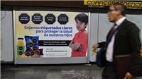Hạ viện Mexico thông qua dự luật dán nhãn cảnh báo đối với đồ ăn vặt