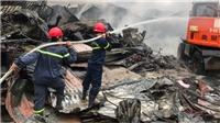 Cháy chợ ở Thanh Hóa, 400 gian hàng của tiểu thương bị thiêu rụi
