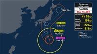 Nhật Bản: Bão nhiệt đới Hagibis đổ bộ, gây mưa lớn tại thủ đô Tokyo