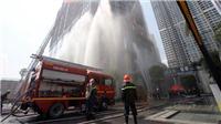 Diễn tập chữa cháy và cứu nạn cứu hộ tại tòa nhà cao nhất Việt Nam