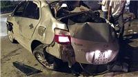 Xe khách giường nằm đâm xe ô tô con, 3 người chết, 1 người bị thương