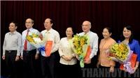 Thành ủy Thành phố Hồ Chí Minh công bố quyết định chuẩn y 3 Ủy viên Ban Thường vụ Thành ủy