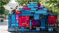 Tháp nghệ thuật bên hồ Gươm thành... nhà vệ sinh: Không thể tưởng tượng