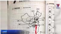 VIDEO: Thu hồi gấp giáo trình có bản đồ in hình lưỡi bò