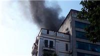 Hà Nội: Dập tắt đám cháy tại tòa nhà cao tầng trên phố Trung Kính