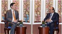 Thủ tướng Chính phủ Nguyễn Xuân Phúc tiếp Phó Chủ tịch Tập đoàn Samsung