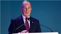 Ứng cử viên Tổng thống Mỹ Bloomberg ủng hộ 10 triệu USD cho phe Dân chủ
