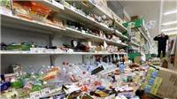 Động đất mạnh làm rung chuyển Đông Bắc Nhật Bản