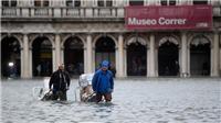Thành phố Venice chìm trong biển nước của đợt thủy triều lịch sử